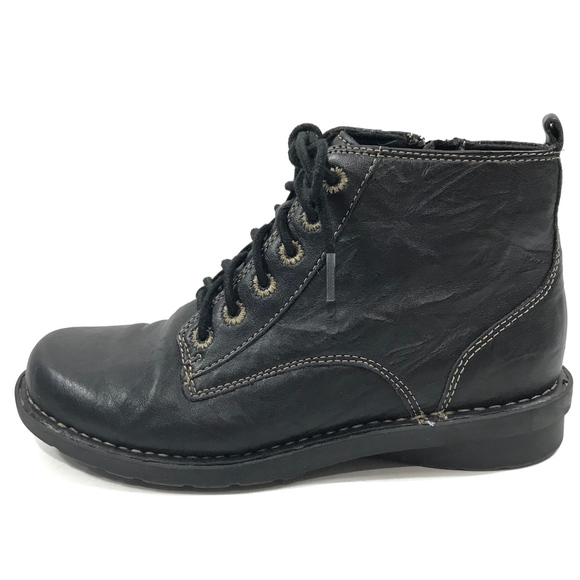 Nikki Detail Lace Up Ladies Ankle Boots